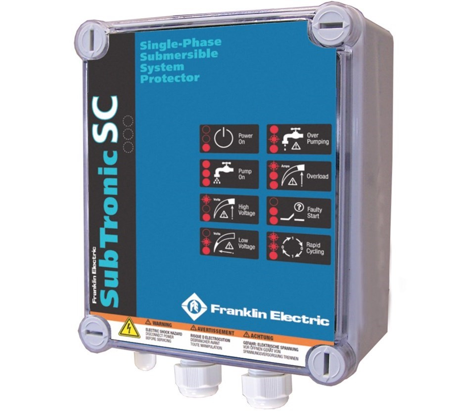 Subtronic 1 Phase Franklin Electric Drives Controls Protection Franklin Electric Europe