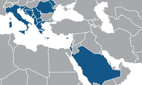 Italy, Israel, Greece, Cyprus, Romania and KSA